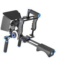 DSLR Camera Cage Rig Shoulder Mount Matte Box Follow Focus for Cameras Video DV