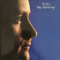 "Phil Collins Hello, I Must Be Going! (I Don`t Care Anymore) 1982 WEA 12"" LP"