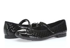 Geox Respira Pile Women's black patent leather quilted Mary Jane flats sz. 40
