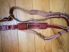 Small Chestnut Bridle Leather Hold Fast MoneyMaker Multi Camera Strap