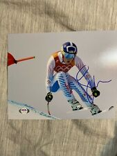 Lindsey Vonn Signed Autographed 8x10 Photo Skiing Legend Olympics PSA COA