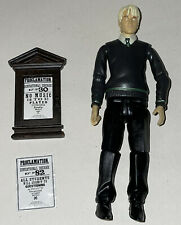 """Draco Malfoy with noticeboard NO WAND 4"""" Popco action figure Harry Potter films"""