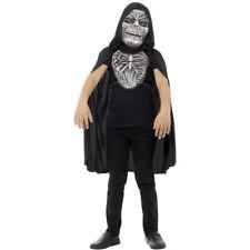 Child Grim Reaper Kit Child Eva Mask Chestpiece Kids Fancy Dress Accessory