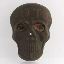 Theta Tau Fraternity Skull Design RARE Original Engineering Collectible Member