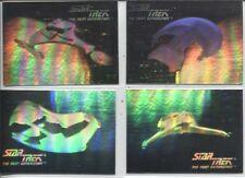 1992 IMPEL STAR TREK NEXT GENERATION INAUGURAL ED. ERROR 4-HOLOGRAM SET 031-036