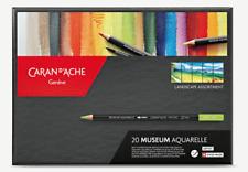 CARAN D'ACHE - Boîte Standard 20 Couleurs MUSEUM Aquarelle - Réf. 3510.920