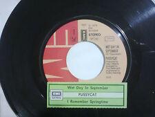 Pussycat– Wet Day In September –  Disco Vinile 45 giri +Stickers Per Juke Box