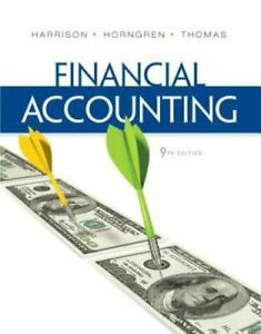Financial Accounting by Harrison, Walter T.