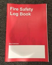FIRE ALARM LOG BOOK A5 *For all fire alarm systems