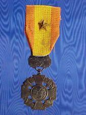 New listing Vintage Variation 1950-60s Gallantry Cross / Bronze Star South Vietnam Full Size
