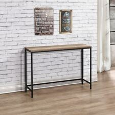 Urban Wood and Metal Rustic Console Table 71cm x 105cm x 30cm