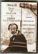 Dead for a Dollar & Cain's Cutthroats (DVD) *** DISC ONLY ***