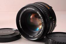 Minolta MD ROKKOR 50mm f/1.7 Manual Focus MF Lens -Excellent From Japan F/S