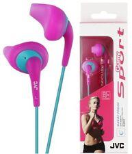 Auriculares rosa deportivos