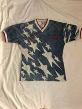 Genuine 1994 Adidas USA Men's World Cup Away Jersey - Size L Rare