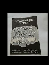 SETTANDUE ORE DEL FUMETTO (volantino manifestazione Bologna)