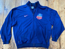 RARE Vintage Nike US Ski Team Full Zip Athletic Track Jacket Made In USA Sz XL