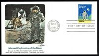 US 1912 Exploring the Moon 1981 Fleetwood FDC F1912-2