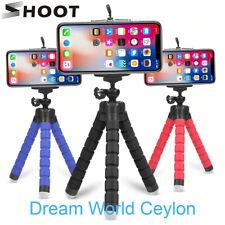 SHOOT Mini Flexible Sponge Octopus Tripod for Smartphone & Gopro Camera