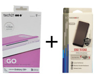 New Tech21 Evo Go Orchid Case+Screen Cover Protector For Samsung Galaxy S8+ Plus