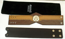 Assassins Creed Brotherhood & Syndicate Limited Promo Leather Bracelet New Rare