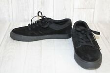 DC Nyjah Vulc Skate Shoes - Men's Size 6, Black