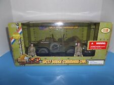 ULTIMATE SOLDIER WC57 DODGE COMMAND TRUCK 1/18 SCALE - YEAR 2004