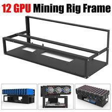 More details for 12 gpu miner mining 6-8-12 gpu 29in rig frame computer case for ethereum rvn ltc