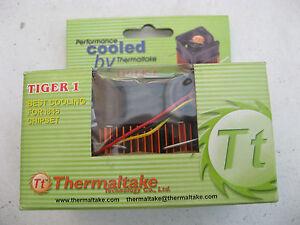 UNUSED THERMALTAKE TIGER 1 CPU HEATSINK/FAN FOR INTEL i845 CHIPSET STILL BOXED.