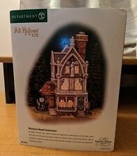 Department 56 Dickens Village All Hallows Eve Mordecai Mould Undertaker Retired