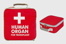 HUMAN ORGAN FOR TRANSPLANT LUNCH BAG BOX OFFICE MENS JOKE DINNER FUNNY WORK FUN