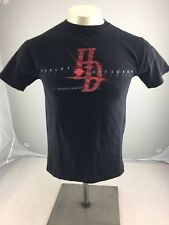 Harley Davidson motorcycles mens small American flag patriot Fairfax VA Shirt