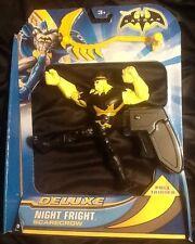 Batman Deluxe Night Fright Scarecrow Figure Spins MINT Mattel DC Comics