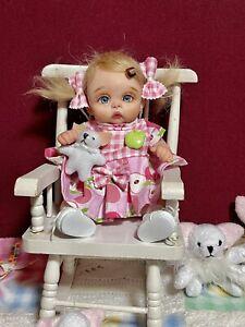 OOAK art doll ,Baby-Girl 7,5 inch Polymer clay by Svetlana