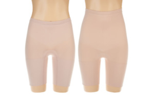 Spanx Power Series Shaping Short Set Soft Nude Size M A303964 QVC