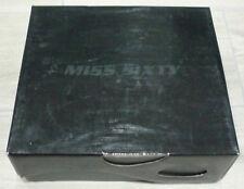 Ladies Miss Sixty Kaeli Blue Wedge Shoes Size UK 4 EUR 37 NEW IN BOX BARGAIN NR