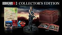 PS4 Resident Evil BIOHAZARD RE:3 Japan Version COLLECTOR'S EDITION with Tracking