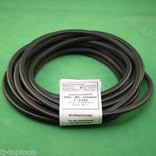 10 m Kantenschutzprofil Kantenschutz Kantenprofil 1-2 mm schwarz Stahleinlage