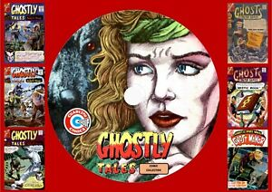 Ghostly Tales & Other Charlton Ghost Comics On PC DVD Rom (CBR FORMAT)