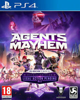 Agents of Mayhem - Day One Edition (PS4)  BRAND NEW AND FACTORY SEALED