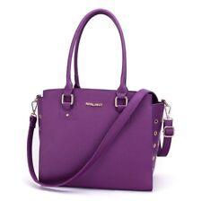 New Pet Dog Cat Carrier Shoulder Bag Handbag Travel Bag Tote Purple/Black Size M