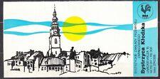 POLAND 1986 Matchbox Label - Cat.A#240p. Bystrzyckie ZPZ (panorama of the city).
