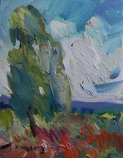 JOSE TRUJILLO OIL PAINTING Modern ORIGINAL Signed IMPRESSIONIST WILDFLOWERS ART