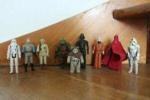 Vintage Lot de figurines star wars kenner 1978-1983
