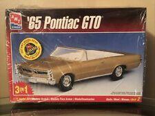 Vintage AMT '65 Pontiac GTO 3in1 Model Car Kit 1/25 - #8201 Sealed Content
