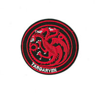 TARGARYEN SIGIL Iron on / Sew on Patch Game of Thrones Embroidered Badge PT492