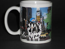 New York Traveling Cow Mug Times Square Road Trip 1999 Collectible Coffee Cup