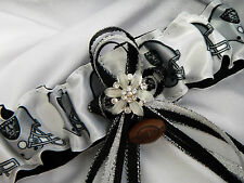 OMG Love It OAKLAND RAIDERS GARTER Souvenir Football Fan Wedding RAIDERETTE Prom