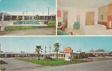 F8436 TX, Harlingen Capri Motor Hotel Postcard