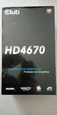 Club 3D HD 4670  1GB  DDR3 AGP de Colección